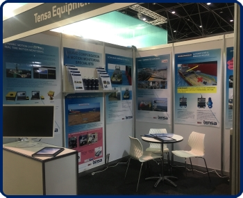TENSA booth at the Australasian Oil and Gas Exhibition Conference February 2017