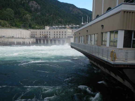 Brilliant Dam Hydroelectric Facility Canada