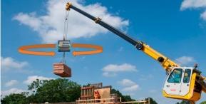 Robotic materials handling, wireless release hook, crane camera